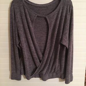 Soft unique back sweatshirt